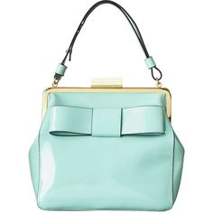 Orla Kiely Patent Leather Holly Bag ($450) ❤ liked on Polyvore