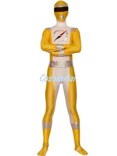 Bouken Yellow Boukenger Power Ranger Superhero Costume
