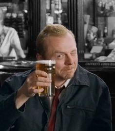In case of zombie apocalypse: take car, go to Mum's, kill Phil, grab Liz, go to the Winchester, have a nice cold pint, and wait for all this to blow over. #ShaunOfTheDead omg I love this movie
