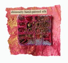 shimmery hand painted silk   Flickr - Photo Sharing!