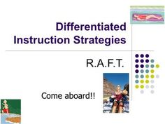 differentiated-instruction-strategy-raft by ulamb via Slideshare