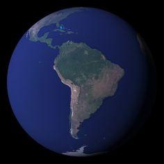 NASA Satellite image of the Earth