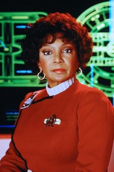 Uhura in STAR TREK VI: THE UNDISCOVERED COUNTRY (1991).