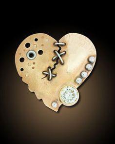 Tortured Hearts | - Stephanie Ritchie Jewelry ~ #Heart