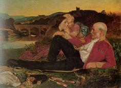 Anthony Frederick Sandys, Autum, 1860-1862