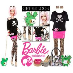 """""""Get The Look: Barbie Tokidoki"""" by veronica-sinetti on Polyvore"""