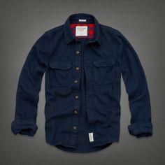 Mens Catamount Flannel Shirt | Mens Shirts | Abercrombie.com