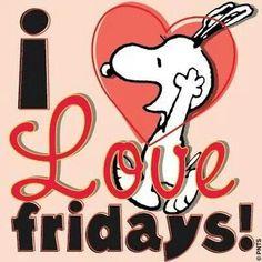 Snoopy / Fridays