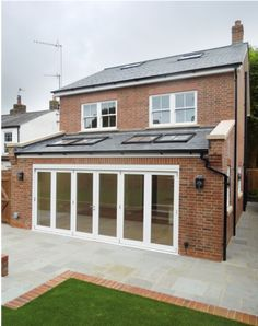 There are different types of ground floor extensions some of which are a side extension, a rear extension or a wraparound and each type has their own distinct features. House Extension Plans, House Extension Design, Garden Room Extensions, House Extensions, Wraparound Extension, Patio Design, House Design, Conservatory Extension, Different Types Of Houses