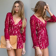 This playsuit is too darling!