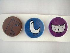 Familia animal pack número 4 por HappyBroccoli en Etsy, €3.45 #chapas #pinbackbutton
