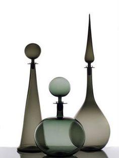 Glass Decanters by Joe Cariati  Photo by Phillip John Cybulski