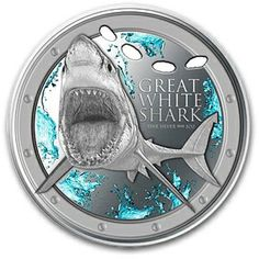 2012 1 oz Silver Niue $2 Great White Shark (W/Box & COA)   I wouldn't pay $99 for 1 oz but its a neat coin.