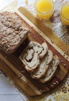 Triple Cinnamon Swirl Bread