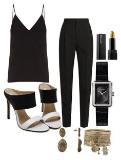"""""""Untitled #1640"""" by social-outcast-16 on Polyvore featuring Raey, Yves Saint Laurent and Chanel"""