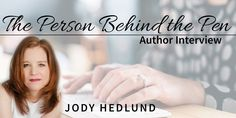 Jody Hedlund talks about The Orphan Train Series - MELONY TEAGUE