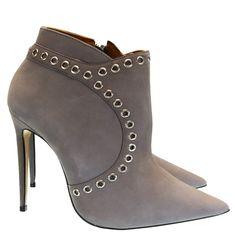 Bota Cinza 4054 Valentina by Kazar | Moselle sapatos finos femininos! Moselle sua boutique online.
