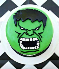 incredible hulk birthday cake - Google Search