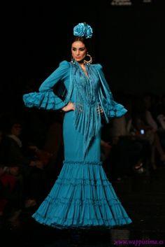フラメンコ Flamenco  Colección A mi manera por  Pilar Vera en  SIMOF 2013