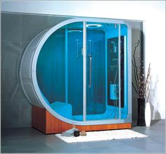 Modern bathroom design trends include contemporary showers and glass enclosures in various styles and with various functions that turn bathroom interiors into spa-like spaces. Modern shower designs an Best Bathroom Designs, Modern Bathroom Design, Bathroom Interior Design, Shower Designs, Bathroom Ideas, Steam Shower Units, Steam Room Shower, Contemporary Shower, Modern Shower