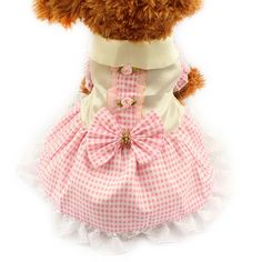 Gingham Dog Dress