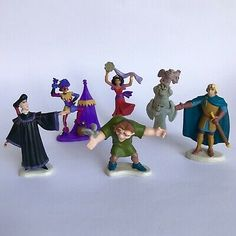 "Disney Plush Clopin Jester 6""h Pirate 1996 Hunchback of Notre Dame Movie .."