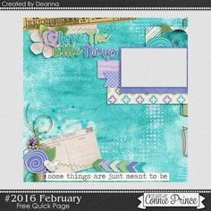 Connie Prince Digital Scrapbooking News: Come see what's new this week!