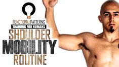 Relieving Shoulder Problems – Shoulder Mobility Routine Do you have FUNCTIONAL shoulder mobility? Here's a routine that will help you along the way if this is one of your stumbling blocks with your functional movement. Shoulder Problem, Tight Hamstrings, Glutes, Shoulder Injuries, Psoas Muscle, Improve Posture, Keep Fit, Injury Prevention, Health And Wellbeing