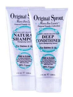 Original Sprout Natural Shampoo & Deep Conditioner Duo