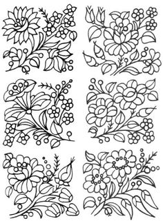 Awesome Most Popular Embroidery Patterns Ideas. Most Popular Embroidery Patterns Ideas. Hungarian Embroidery, Folk Embroidery, Learn Embroidery, Beaded Embroidery, Indian Embroidery, Embroidery Jewelry, Chain Stitch Embroidery, Embroidery Stitches, Embroidery Patterns