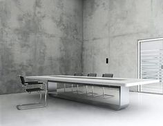 Thonet S 8000 Conference Table by Hadi Teherani