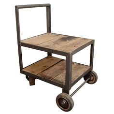 Two Tier Cart Table