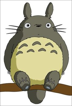 Totoro is the mascot for Studio Ghibli, which was founded by Hayao Miyazaki. He was featured in one of Miyazaki's films, My neighbor Totoro, which was a huge hit. His main audience is towards anyone who enjoys Miyazaki's films. Comic Manga, Manga Anime, Anime Art, Cartoon Cartoon, Totoro Costume, Japanese Cartoon Characters, Studio Ghibli Films, Chibi, Pokemon