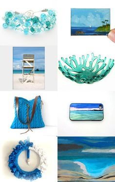Shades of the Sea by Jaclyn--Pinned with TreasuryPin.com