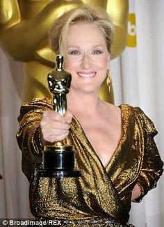 """""""Meryl Streep engancha registro 18a nominación al Oscar en la carrera a la Mejor Actriz"""""""
