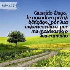 Querido Deus, te agradeço pelas bênçãos,