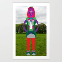 In and Not of and Sent Art Print by David Nuh Omar - $33.28