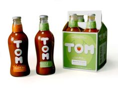 'Tom' by Eleanor Drotning Turns a Tomato Into a Go-To Guy #personified #packaging trendhunter.com