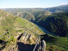 Vistas de vértigo #RibeiraSacra #Lugo #Ourense #Spain by @karmelbahamonde via Twitter