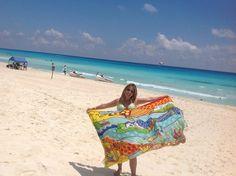 Flickr Beach Mat, Outdoor Blanket, Beach Quilt