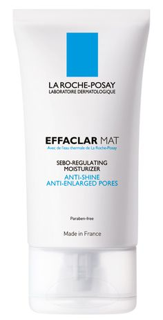 Le Roche Posay - Effaclar Mat **Slight improvement on oiliness, but not dramatic enough to keep foundation from separating. Good light daytime moisturizer that wears beautifully under makeup. Wish it had spf... Pills and rolls off. Disappointing.