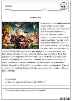 SOS PROFESSOR-ATIVIDADES: Festa no Céu - filme