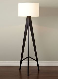 Floor Lamp 13309 By Usona Floor Lamp Black Fabric And Black Lamps