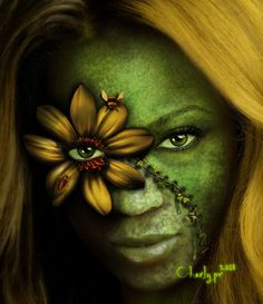 Green Woman by charlypr