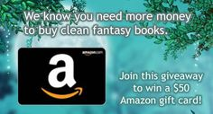 Clean Fantasy Reads Amazon Gift Card Giveaway