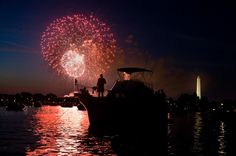 DC Fireworks | See it all, far from the Mall: Great views of fireworks on the Mall from a distance