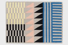 Sylvain Willenz FOLK Rug // 32 statement-making geometric rugs — and where to find (and buy) them right now.