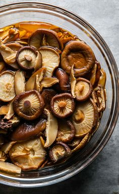 Keep warm with a hearty, satisfying mushroom broth. Sip it alone or use it as the base for a sauce, soup or stew.