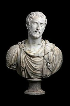 Bust of emperor Antonin the Pious      Roman, mid - IInd century A.D