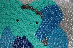 Melted Bead Elephant Tutorial - baking instructions for making sun catchers with pony beads,